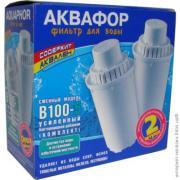 Аквафор В 100 - 5  2 штуки с усиленной бактериальной добавкой